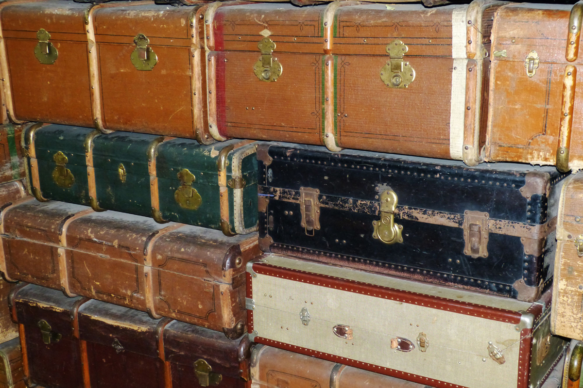 Historische Koffer