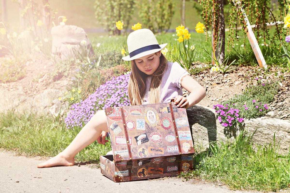 Reisegepäck duftet beim nächsten Gebrauch