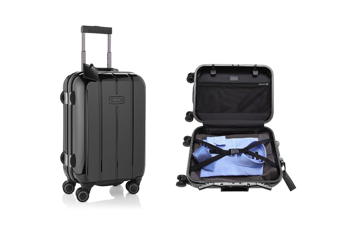 BOSS bedeutet solide Koffer Qualität